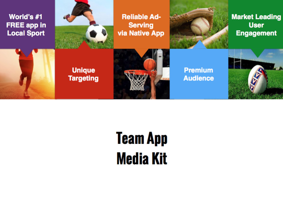 Download the Team App Advertising Media Kit